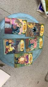 童话城堡迷你宝藏:三只小猪、姜饼人,拇指姑娘,美女与野兽、三只熊、穿长靴的猫【5册合售 袖珍精装图文本】【正版 现货 当天发货 实图】