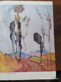 画页:油画--山岗、芭蕉地--罗尔纯,落叶--张建平106