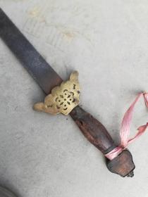 健身剑一把;可弯曲软剑好钢铁长85厘米
