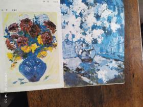 画页:油画--花--张重庆,花--马洪运,瀑布--曹达立106