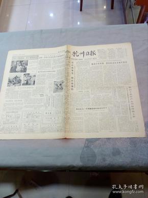 原版老报纸:杭州日报(1979年10月11日  )