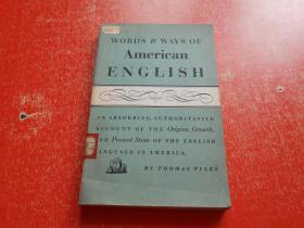 美国英语的词及其用法(英文版)馆藏