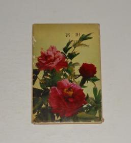 明信片--洛阳(10张) 1977年 封套旧