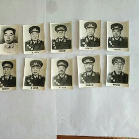 十大元帅  没有林彪加周恩来照片10张
