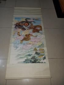 年历画---祥龙兆福画