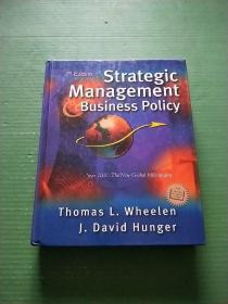 strategic Management Business Policy(16开精装)见图