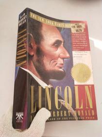 英文原版 大开本 戴维·赫伯特·唐纳德(著) 林肯 Lincoln by David Herbert Donald