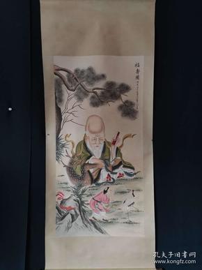 王素 手绘人物画,下笔流畅,均匀自然,精美绝伦,人物表情姿态到位