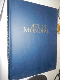 Atlas Mondial 世界地图集 法文原版精装 8开 1995年