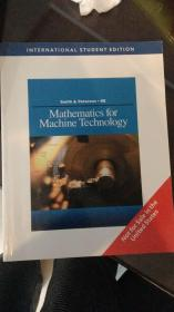 mathematics for machine technology机器技术数学