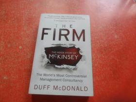 THE FIRM THE INSIDE STORY OF MCKINSEY DUFF MCDONALD