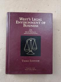 WESTS LEGAL ENVIRONMENT OF BUSINESS