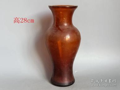 清代老琉璃瓶1