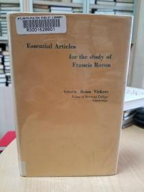 Essential articles for the study of Francis Bacon