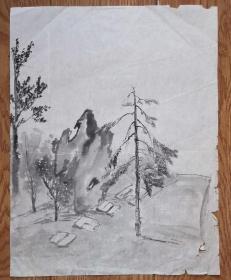 手绘真迹国画:无款20190521-02