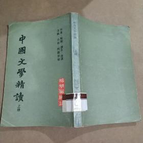 中国文学精读-上册