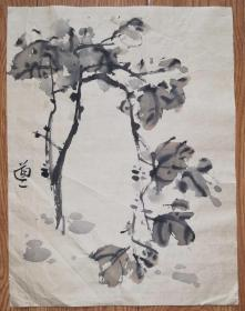 手绘真迹国画:无款20190521-05