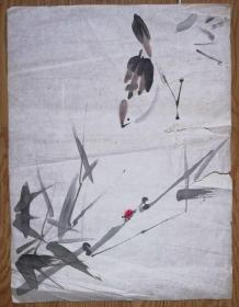 手绘真迹国画:无款20190521-06