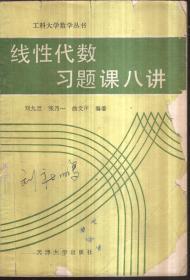 线性代数习题课八讲(二手书)