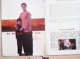 电影宣传页  黄沙 青草 红太阳