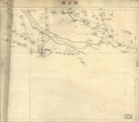 清末,1894年,固安地图,固安老地图,廊坊地图,廊坊老地图。原图现藏国外,原图高清复制,裱框后,风貌佳。关于雄安新区的史料。