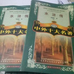 初中生课外文学名著系列:水浒传 中下2册