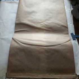 老式牛皮纸袋子【3层的.可装大米50斤】尺寸长82.厘米.宽49.5厘米