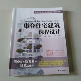 集合住宅建筑课程设计/21世纪建筑学专业课程设计精品教材
