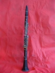 """五十年代""""艺华""""海南黄花梨木单簧管"""
