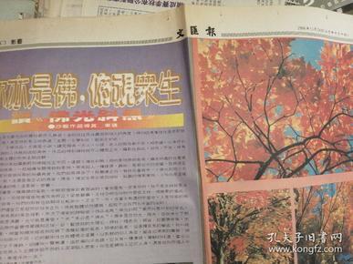 文汇报     影艺   笔汇/世说版    1996.11.24
