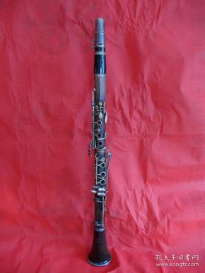 """五十年代""""艺华""""红木单簧管"""