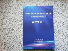 2018矿业前沿与信息化智能化科技年会 首届智能矿业国际论坛会议文集