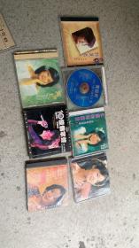 邓丽君CD光盘 7盘合售  如图