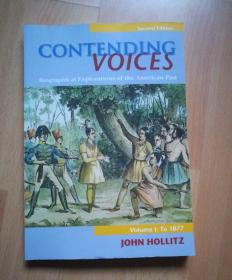 contending voices(biographical explorations of the american past)