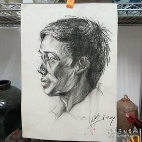当代设计名家、湖北大学艺术学院沈劲夫素描画