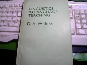 LINGUISTICS IN LANGUAGE TEACHING  语言学与语言教学