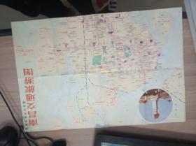 南昌交通旅游图