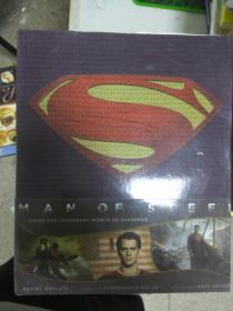 现货~Man of Steel: Inside the Legendary World of Superman 9781608871810