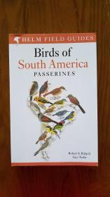 Birds of South America: Passerines
