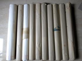 七十年代初 荣宝斋 加厚玉版宣 四尺一卷20张