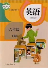 人教版 英语 六年级下册 9787107290718