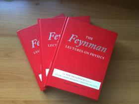 The Feynman Lectures on Physics  Vol 1-3  The New Millennium Edition      费曼物理学讲义    第1-3卷  新千年版  精装英文原版