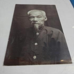 民国老者肖像照片