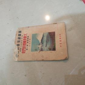 连环画我们的祖国多伟大 第一册 自然形势 通俗科学知识图画 1952年 王企玟绘图