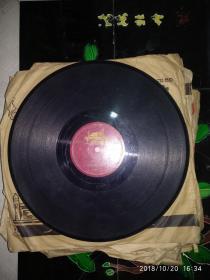 黑胶木唱片 器乐 交谊舞曲《南方的岸》《在水波上》(裸盘)