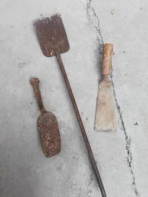 铁铲子3件