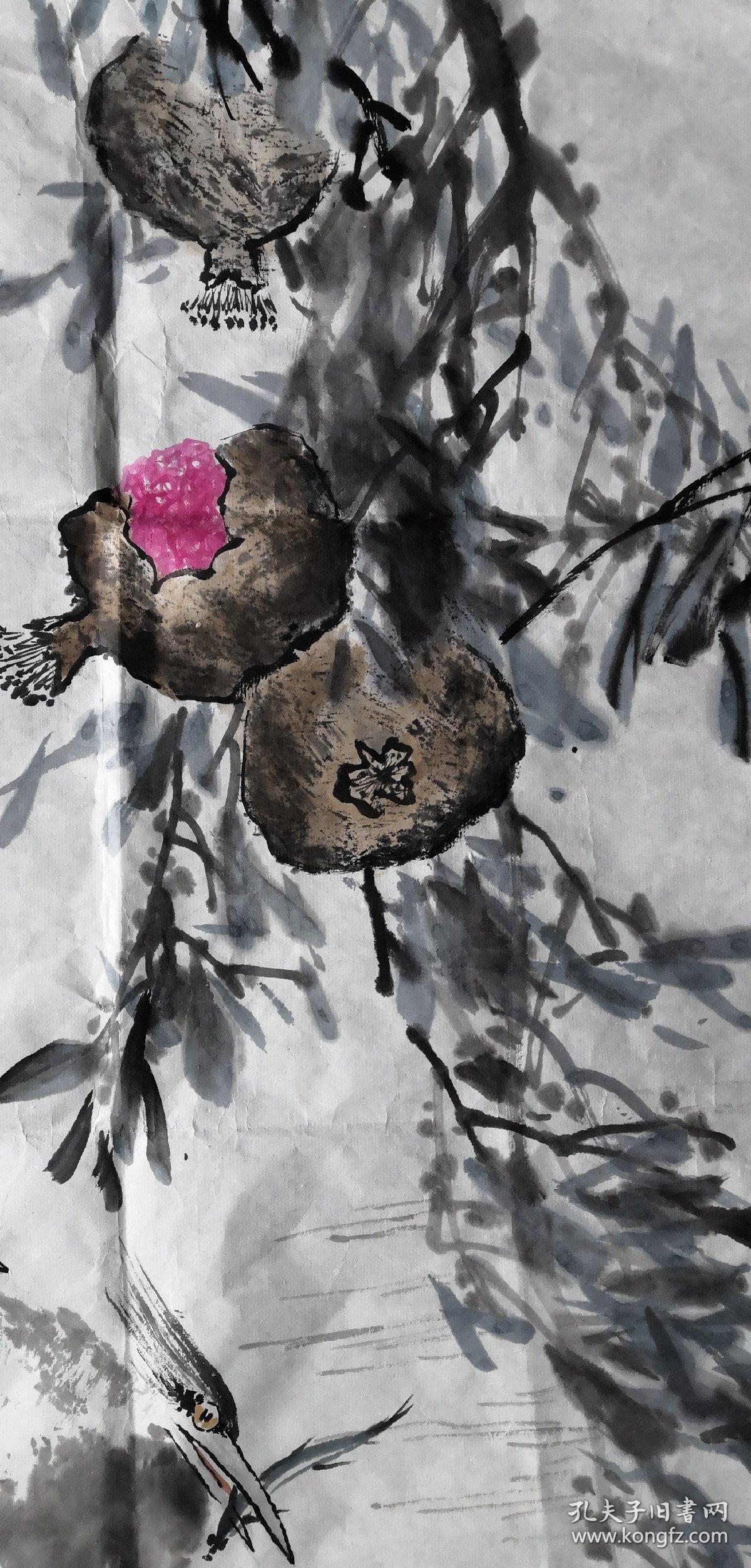 安徽著名老画家(胡志辉)……三平尺……花鸟图片