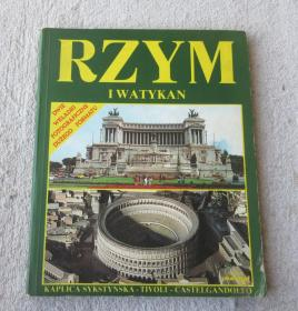RZYM I WATYKAN 罗马和梵蒂冈(波兰语原版 画册)