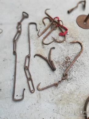 生活用具;铁钩子几件自己看
