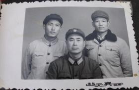老照片,原照--军人--收藏夹相册